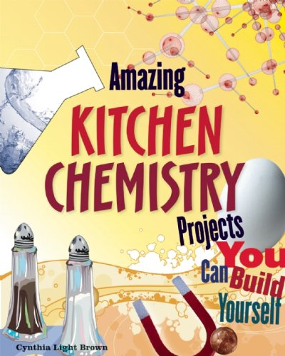 With Amazing Kitchen Chemistry Projects, your kid can learn chemistry and have fun at the same time!