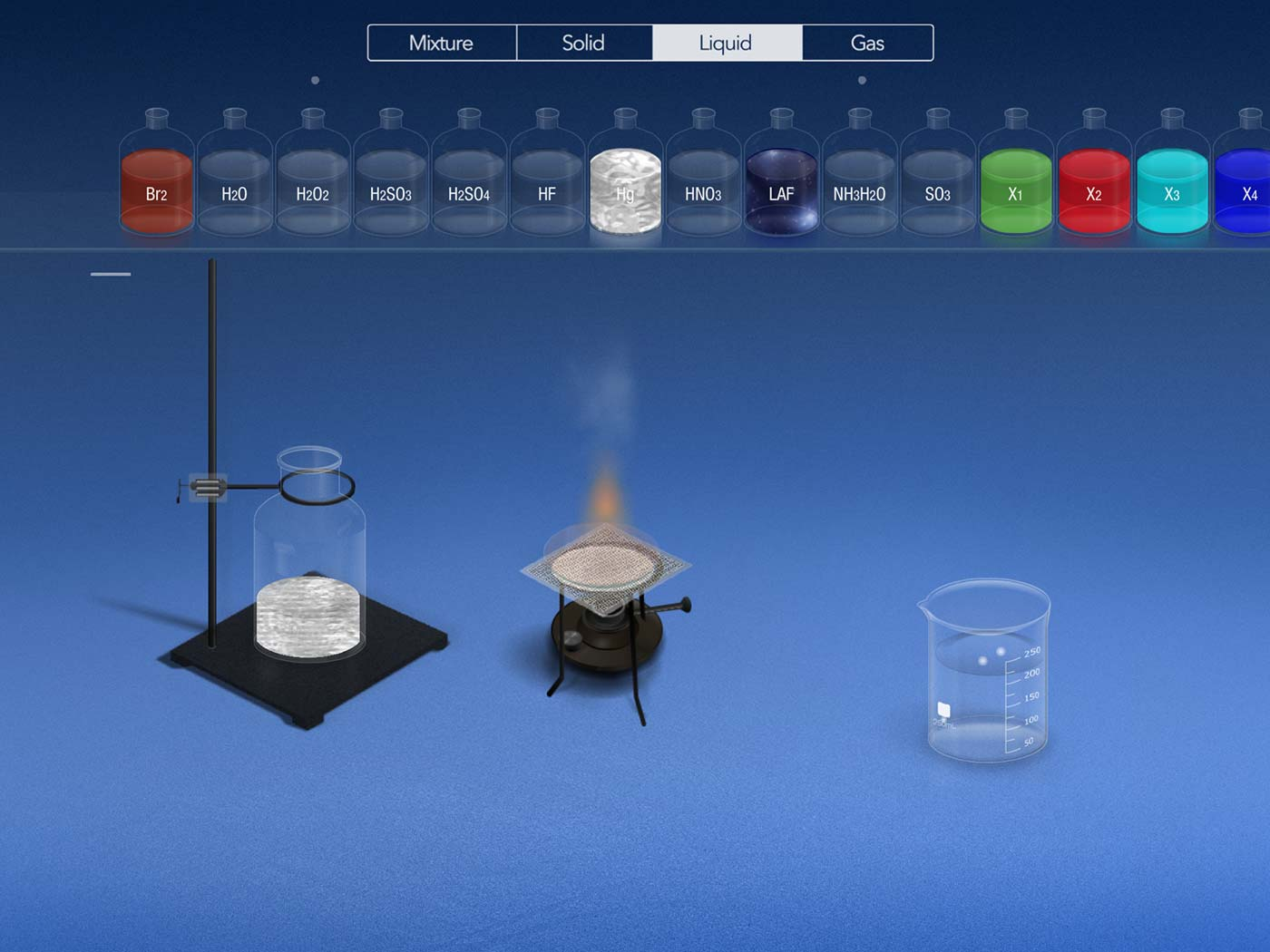 THIX's Chemist app lets you play with all sorts of dangerous chemicals without blowing up half your kitchen.