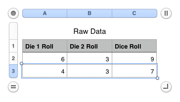 roll 3 dice probability of no repeated numbers 333