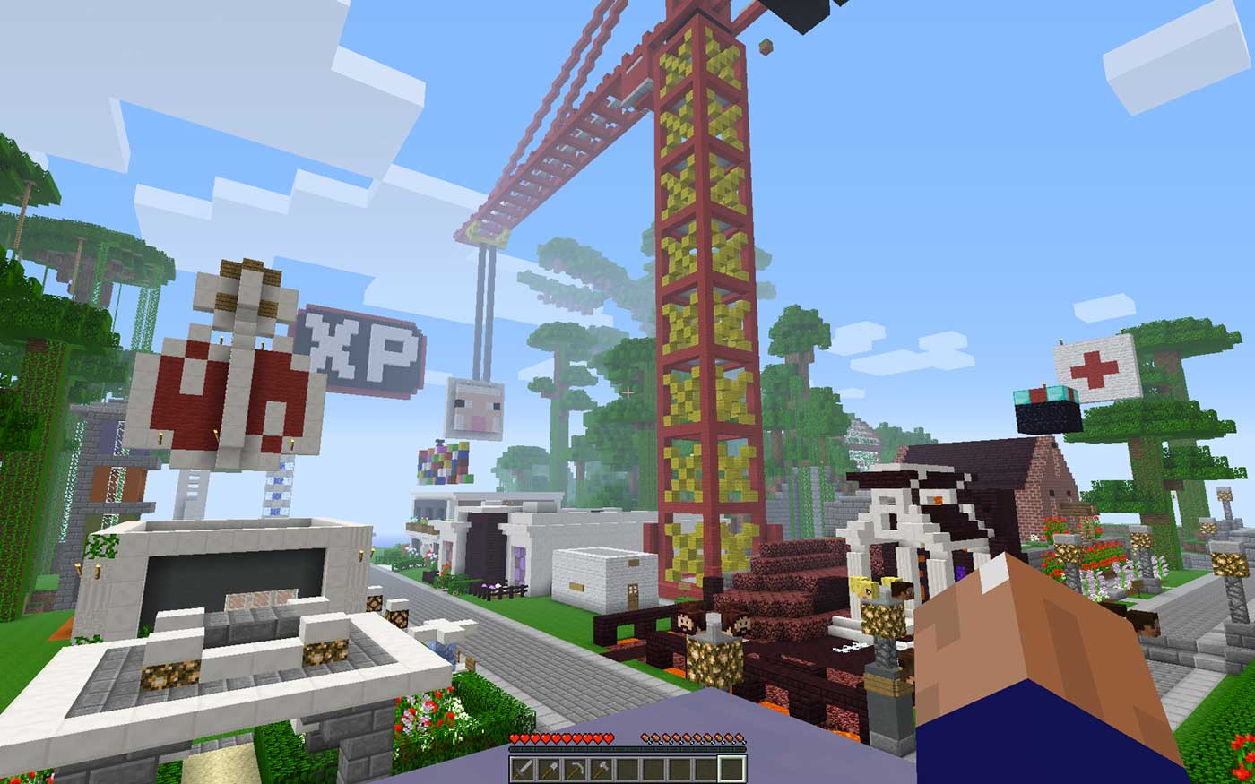 FamilyFriendly Minecraft Servers Where Your Kid Can Play Safely - Minecraft spiele fur ps3