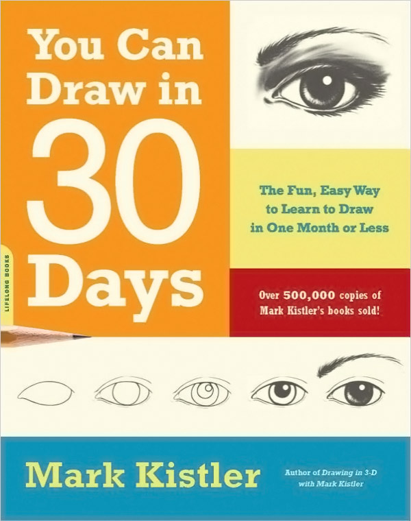 You Can Draw in 30 Days is an excellent way for your child to jump-start their drawing skills.