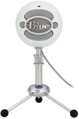 Blue Snowball microphone photo