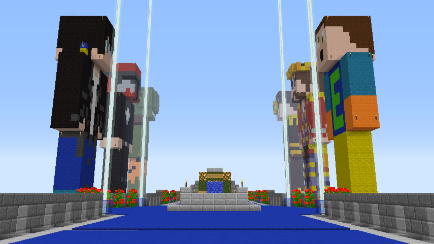 Statues in Famcraft
