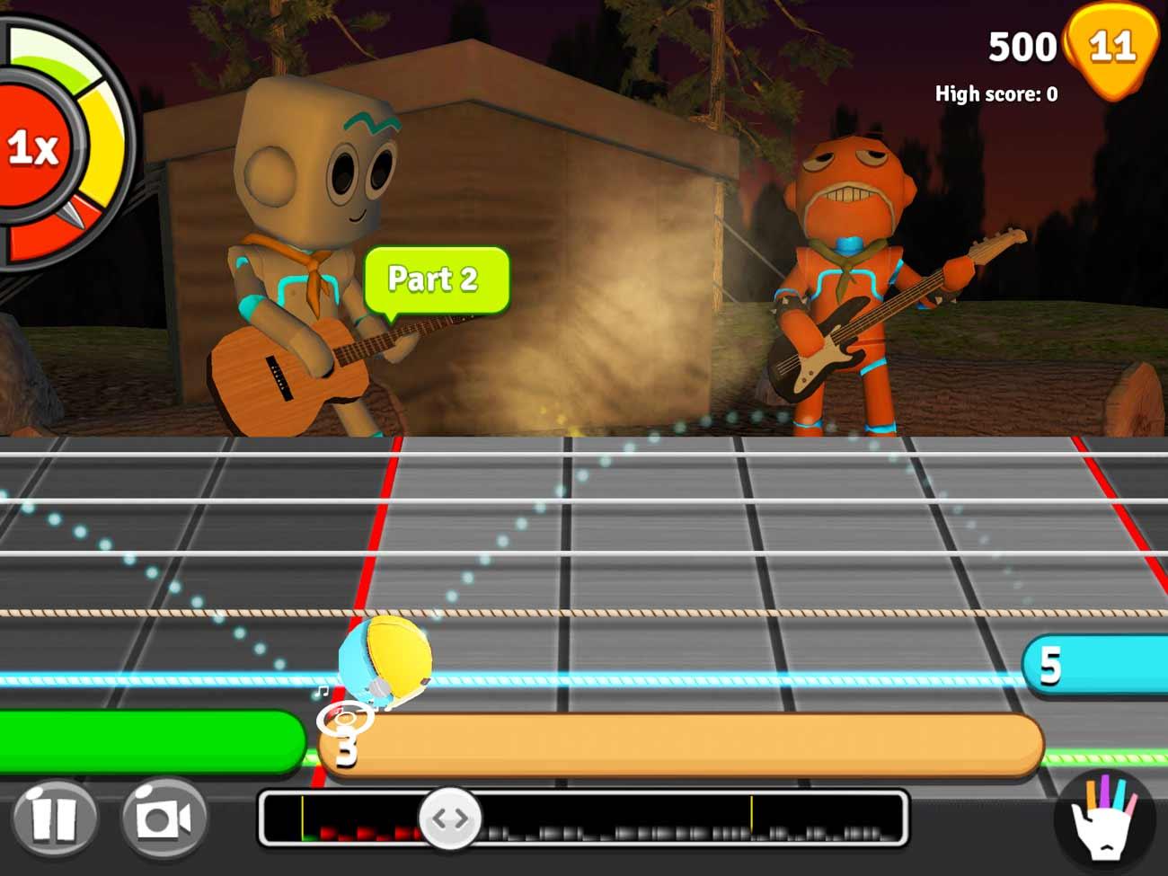 GuitarBots screenshot