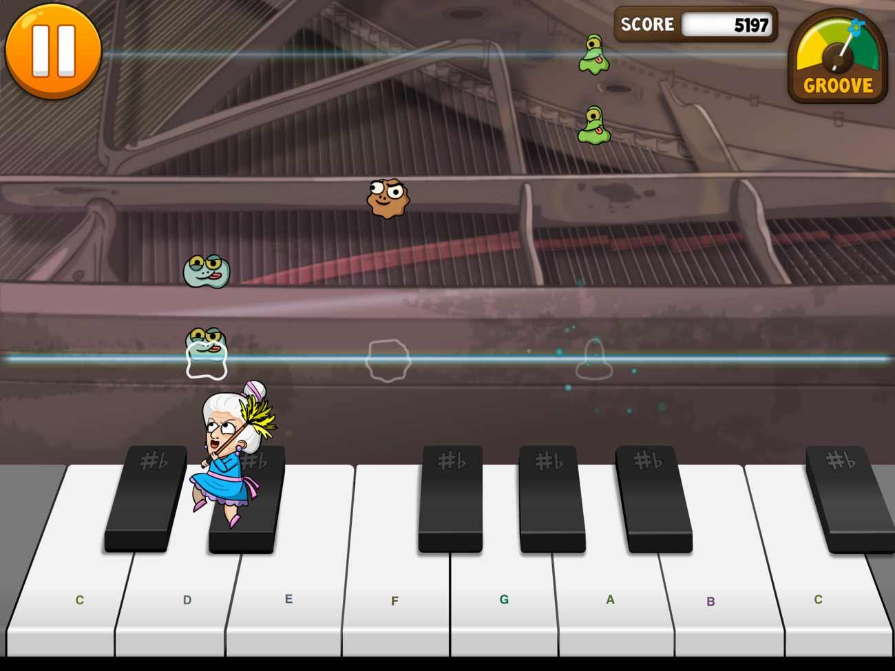Piano Dust Buster screenshot
