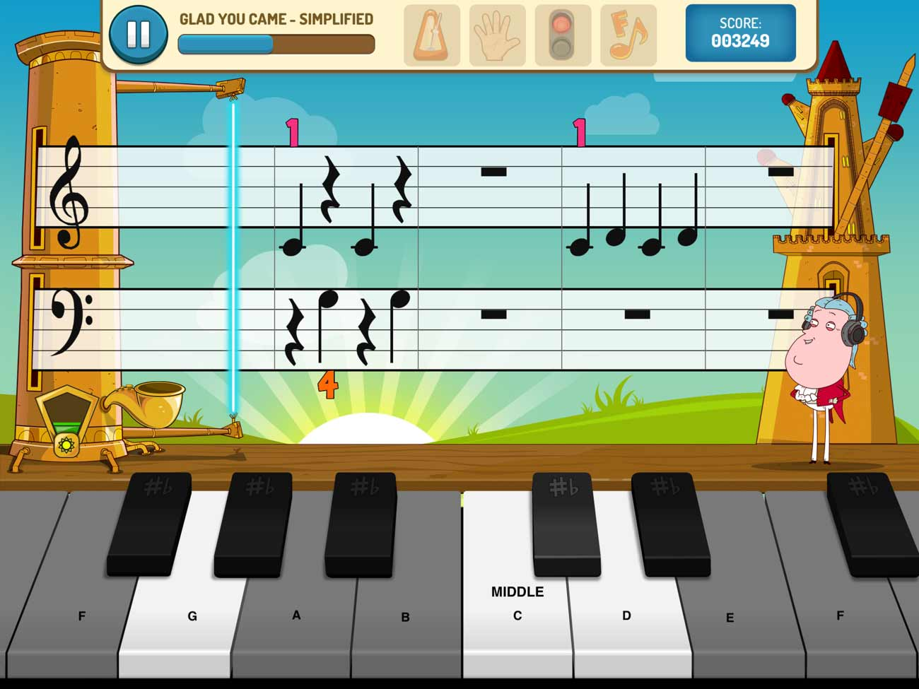 Piano Maestro screenshot