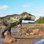 Dinosaur scene