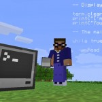 ComputerCraft computer, miner and code in Minecraft