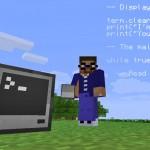 ComputerCraft computer, miner and code in Minecraft