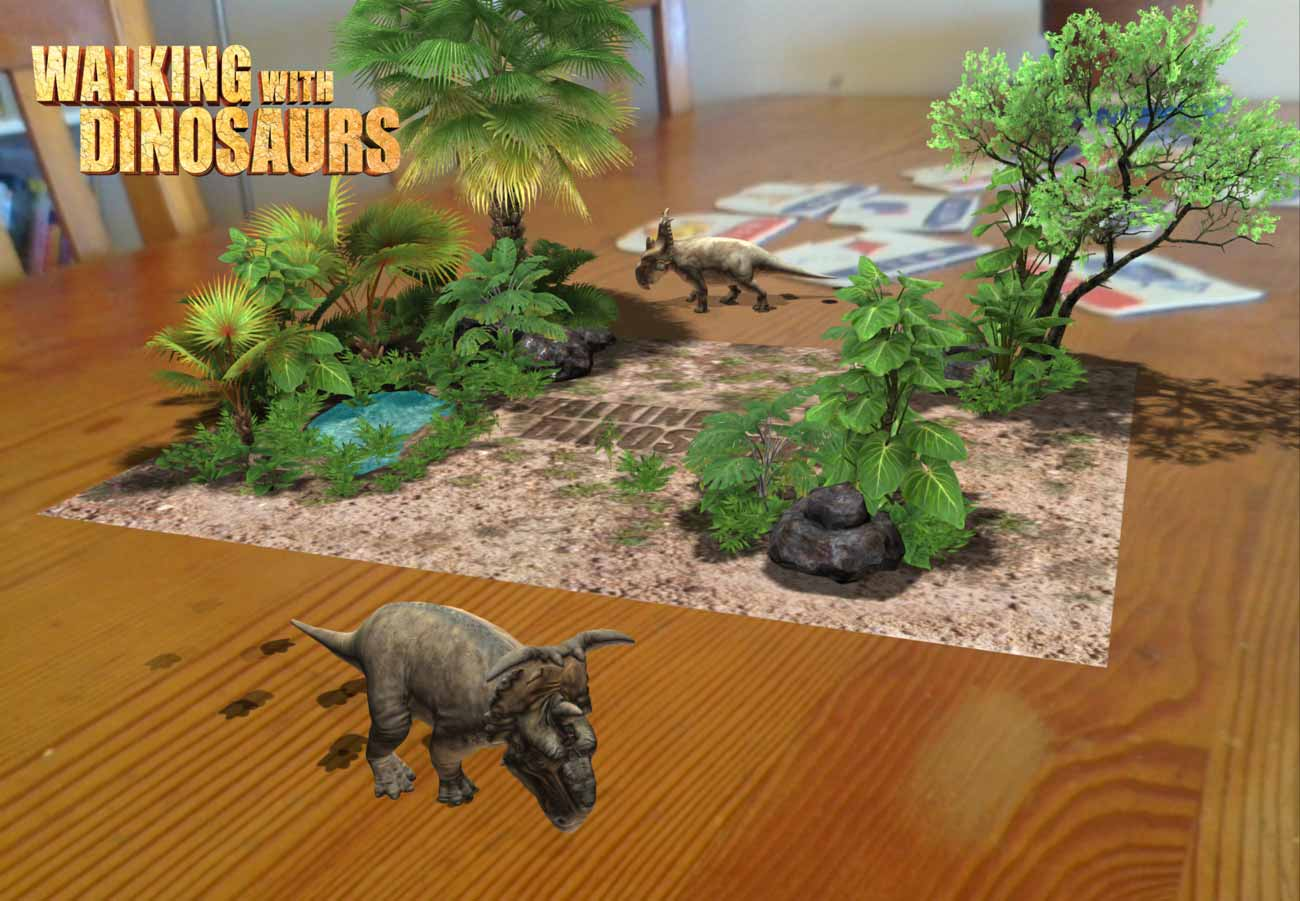 Walking With Dinosaurs: Photo Adventure is a fantastic way for your kid to bring dinosaurs to life in your living room!