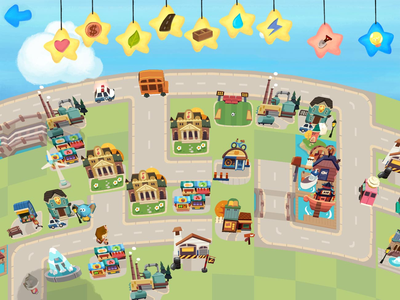Hoopa City is a simple city-building sandbox game that younger kids will enjoy.