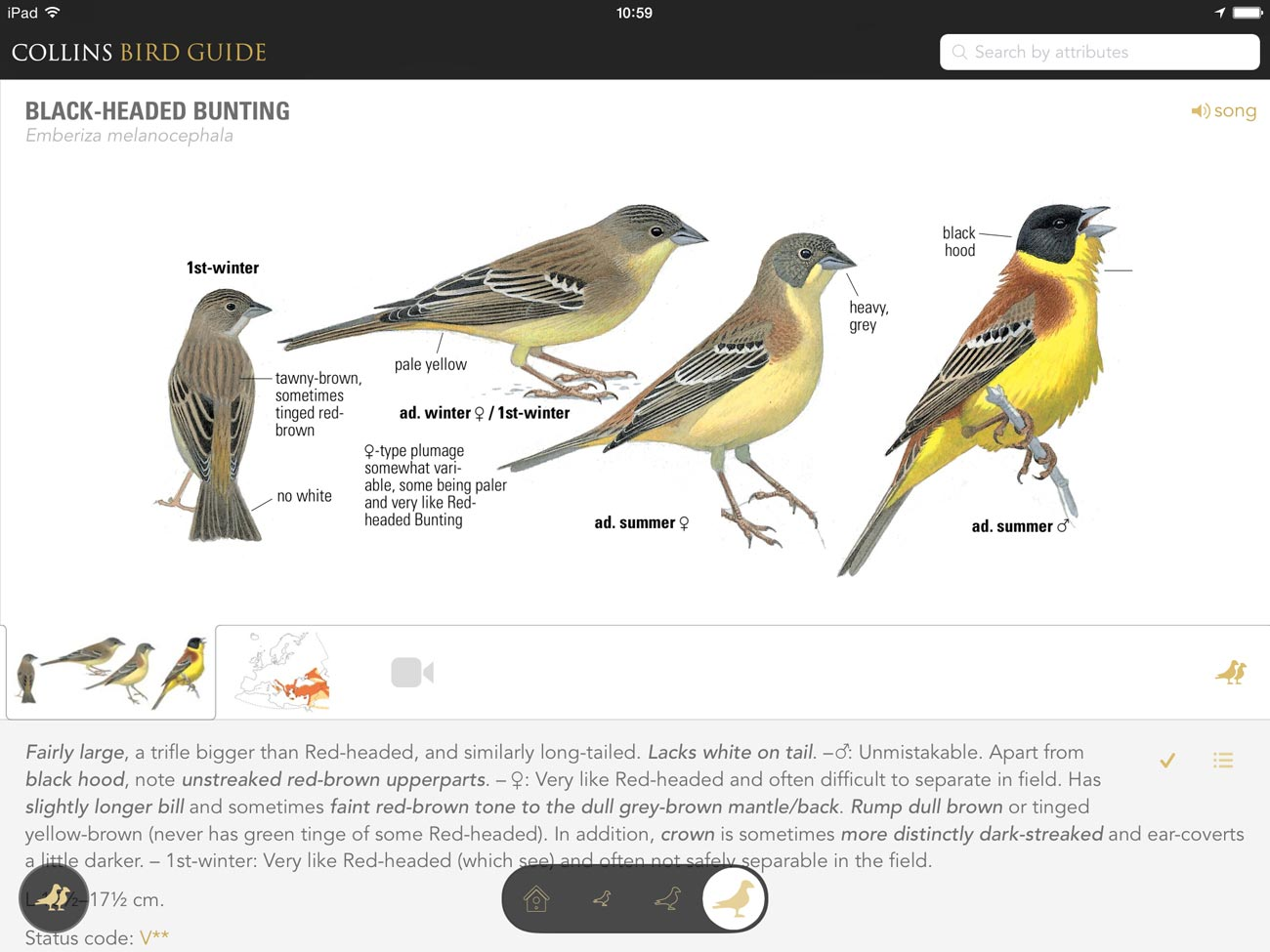 The Collins Bird Guide app is a must-have for serious birdwatchers in the UK and Europe.