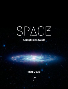 Space - A Brightpips Guide Book Cover (Portrait)